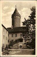 Kahla Thüringen AK ~1920/30 Leuchtenburg Burgturm Burg Burghof Verlag Zieschank