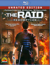 The Raid: Redemption (Blu-ray Disc, 2012, Unrated Edition)