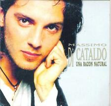"MASSIMO DI CATALDO - RARO CDs IN SPAGNOLO "" UNA RAZON NATURAL """