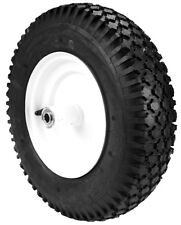 8945 Wheelbarrow Tire &wheel assembly, 480X400X8, 2 ply, tubeless stud tread,