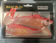 """Matzuo Sterling Minnow  Swimbait Red Snapper 6"""" Bass Fishing Lure Bait"""