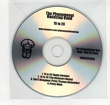 (GN856) The Phenomenal Handclap Band, 15 To 20 - DJ CD