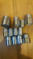 """Britool set of 15 sockets. 1/2"""" drive 12 sided AF"""