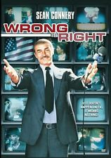 Wrong Is Right DVD (1982) - Sean Connery, Robert Conrad, George Grizzard