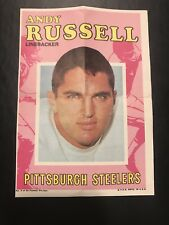 1971 Topps Andy Russell Collectible Poster