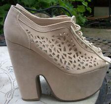 Block Heel Special Occasion Peep Toes Unbranded Women's