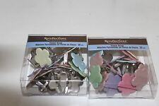 Recollections Medium Brads Mutted Pastel Flowers