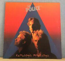 THE POLICE Zenyatta Mondatta 1980 UK vinyl  LP + INNER EXCELLENT CONDITION    R