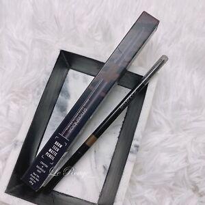 Smashbox Brow Tech Matte Pencil with spoolie - Brunette thin eyebrow pencil