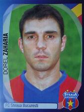 Panini 552 Dorel Zaharia Steaua Bucuresti UEFA CL 2007/08