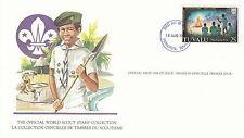 (90242) Tuvalu FDC Card Scouts Funafuti 18 August 1982