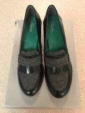 New Ros Hommerson Amy Loafer Block Heel 9.5 SS