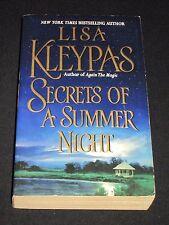 msm* SALE : LISA KLEYPAS ~ SECRETS OF A SUMMER NIGHT