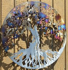 Tree of Life Metal Wall Art Home Decor Heat Treated