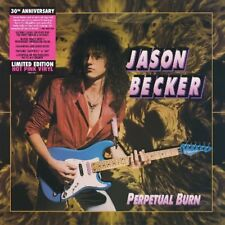 JASON BECKER-PERPETUAL BURN:30TH ANNIVERSARY RE-ISSUE(LTD. PINK) VINYL LP NEW!