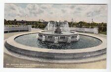 [52342] Old Postcard McElroy Fountain Lakeside Park, Oakland, California