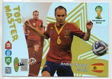 "Andrés Iniesta (Spanien) ""Top Master"" / Adrenalyn XL-Serie WM 2014 Brasilien"