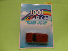 1001 HEISSE RENNER MERCEDES BENZ C 111 C111 - 1:60? - NM+UNOPENED CARD BLISTER