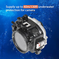 Seafrogs 40m Waterproof Underwater Camera Housing Case for Canon EOS M50 18-55mm