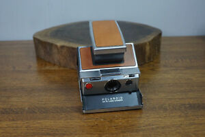Vintage Polaroid SX-70 Land Camera Leather Case