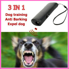 Pet Dog Repeller Anti Barking Stop Bark Training Device Trainer LED Ultrasonic