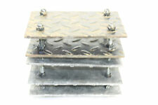 Awesome Diamond Plate Steel Original Industrial Steampunk Desk Garage Organizer