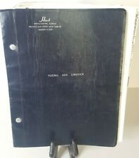 Young Abe Lincoln 1961 Broadway Play Script Joan Javitz, Arthur Shimkin