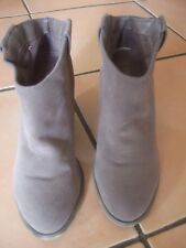 bottines chaussures femme bottes pointure 38 TBE talon 8,5 cm