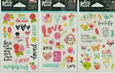 Illustrated Faith Clear Sticker sets~Several Varieties~Adorable! Quick Ship!
