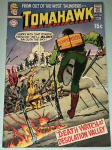 Tomahawk #130 Fine 1970 DC Comic Book Western Neal Adams Cover Frank Thorne Art