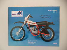 advertising Pubblicità 1977 MOTO MILANI CROSS 50 COBE CO-BE