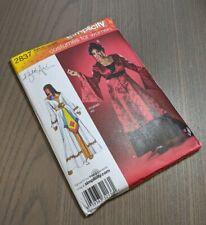 New Simplicity 2837 Khaliah Ali Costume Pattern Cleopatra Geisha Plus Sz 18W-24W