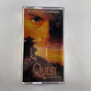 THE QUEST VHS RARE subtitled movie Jean-Claude Van Damme