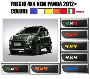 FIAT PANDA 4X4 FREGIO STEMMA 3° SERIE (319) 2012> MODANATURA LATERALE NO ADESIVO