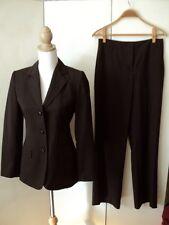 sportscraft brown pinstripe suit large size 8 see below