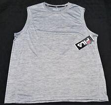 Fila Mens Tank Top super soft Mens Size Xlarge gray