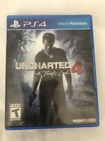 Uncharted 4 A Thief's End (Sony PS4) Free Shipping