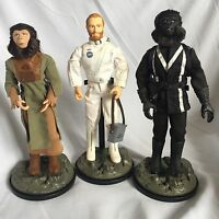 """Hasbro Planet Of The Apes 12"""" Action Figures Collectable Job Lot Toy Bundle Sale"""