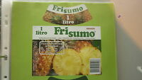 OLD PORTUGAL SOFT DRINK CORDIAL LABEL, UNICER UNIAO, FRI SUMO PINEAPPLE 1