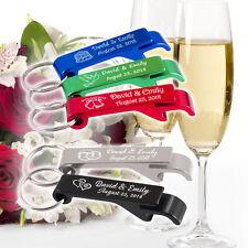 100 Personalised Bottle Openers wedding bomboniere