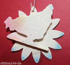 alter Christbaumschmuck Weihnachtsschmuck Huhn venezianischer Tau Pappe