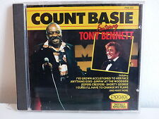 CD ALBUM COUNT BASIE featuring TONY BENNETT PWK032