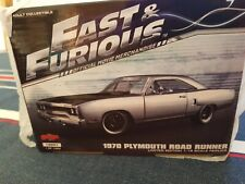 Plymouth Road Runner 1970  Fast & Furious  1:18 GMP