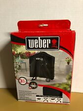 Weber Grill Q 200 Gas Grill Full Length Cover for Rolling Cart # 7113