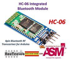 HC-06 Modulo Inalambrico Arduino HC06 Bluetooth con base Slave para Arduino