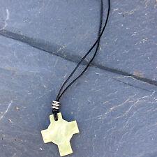Connemara marble Celtic cross pendant. Irish jewellery and gifts.Ireland.