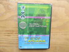 Global Destinations - 1st Stop: Asiana (DVD, 2004) 10 Exotic Locations - New