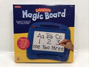 Lakeshore MAGIC BOARD Writing Sketching Drawing Magnetic Homeschool PP717 NEW