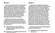 New York Bar Exam UBE 2017 MBE Questions+Answers+Simulated Exams+Drills