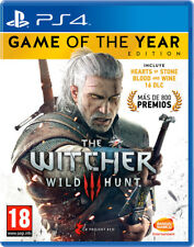 Juego Sony PS4 the Witcher 3 Wild Hunt GOTY